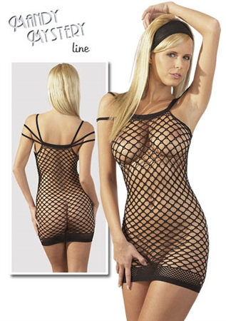 Obrázek Super erotické šaty s trojitými ramínky S-L